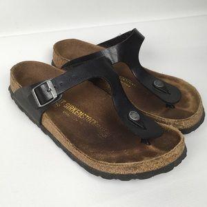 BIRKENSTOCK Sz 6/37 Thong Synthetic Sandals